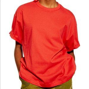 NWT Topshop Cotton Boxy T-shirt
